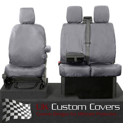 SEAT COVERS SUITABLE FOR A FORD TRANSIT CUSTOM 2018 VAN DIAMOND RED