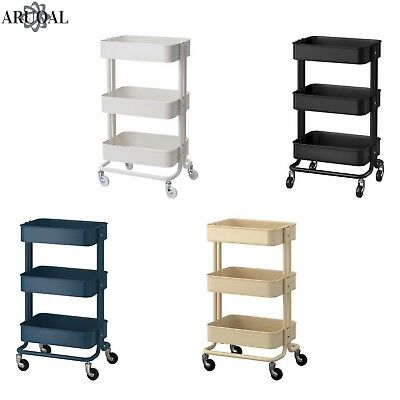 Ikea Raskog Trolley Kitchen Home Various Colours 35 X 48 78