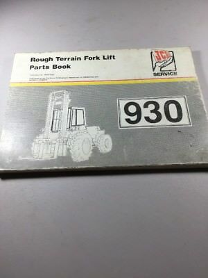jcb 926 930 940 rough terrain forklift service repair manual  your gillison  dealer is available should items in book or? jcb service manual free jcb  926 930
