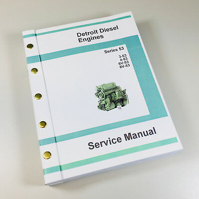 8v92 Detroit diesel shop manual