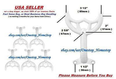 5 36 42 White Ceiling Fan Blade Arms Replacement Brackets Hunter Hampton Bay 28 07 Ebay